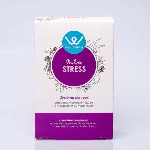Boite de complément alimentaire wellpharma malvea stress