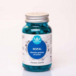 Flacon de complément alimentaire wellpharma de nopal