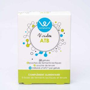 Boite de complément alimentaire wellpharma viridea atb