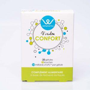 Boite de complément alimentaire wellpharma viridea confort